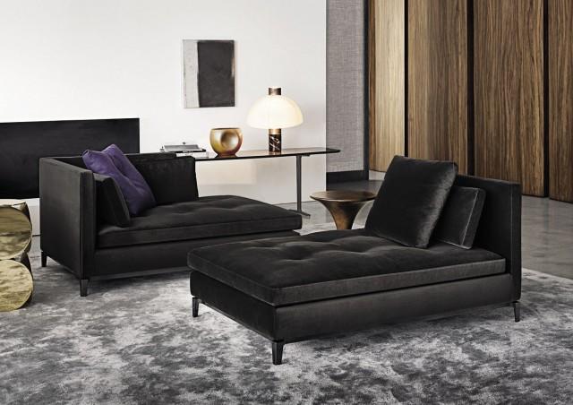 Contemporary lounge chair by Rodolfo Dordoni